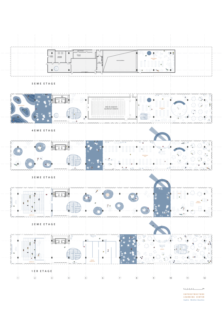 sophie_weidler_bauchez_architecture_plan_learning_center_bruxelles