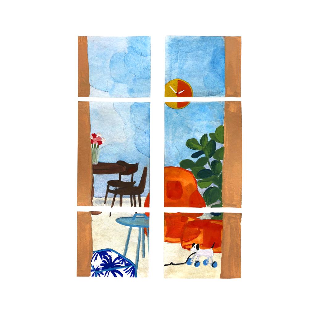 sophie_weidler_bauchez_illustration_gouache_peinture_intérieur_les_nuages