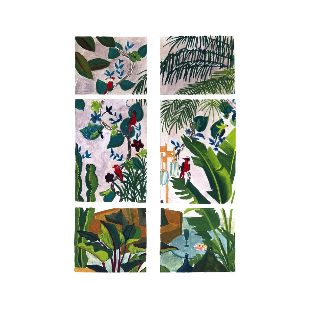 sophie_weidler_bauchez_illustration_gouache_peinture_intérieur_les_plantes